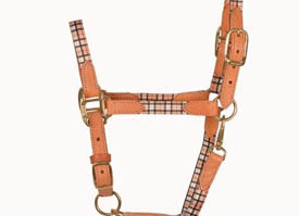 Horse Plaid Halters