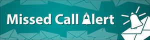 missed call alert services