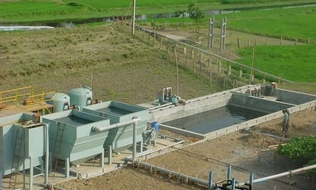 Textile Effluent Treatment Plant in   Valvada- Dist - Valsad