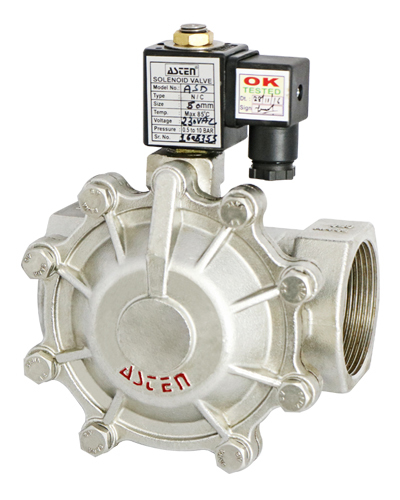 2/2 Way Pilot Operated Diaphragm Type Solenoid Valve