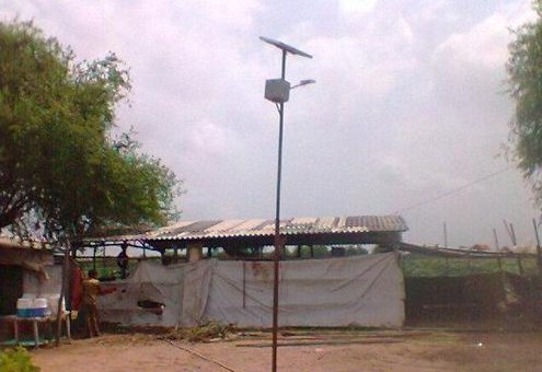 Solar Street Light Project 12 W
