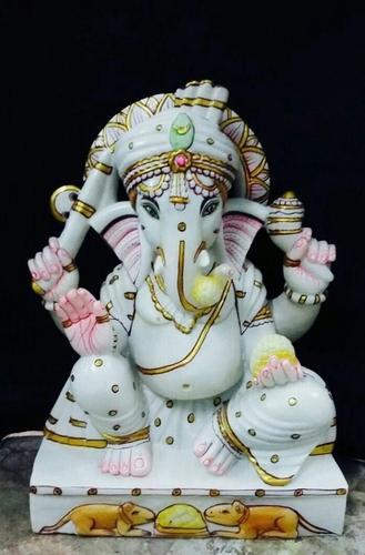 Marble Ganesh Statue in  Kishanpole Bazaar