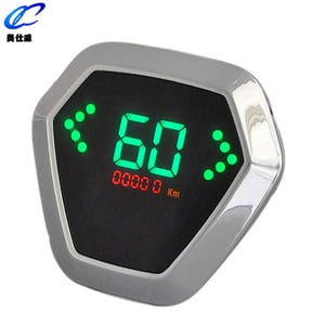 LED Colorful Electric Motorcycle Speedometer