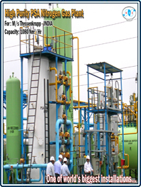 Heavy Duty Psa Nitrogen Plant