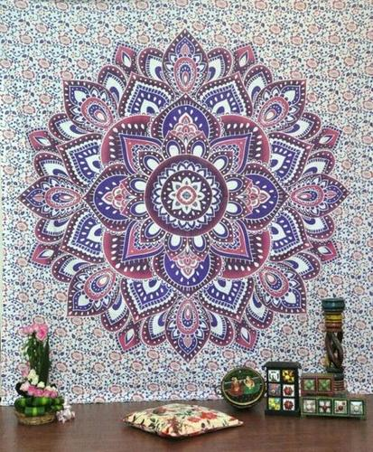 Hippie Indian Cotton Bohemian Mandala Bed Sheets