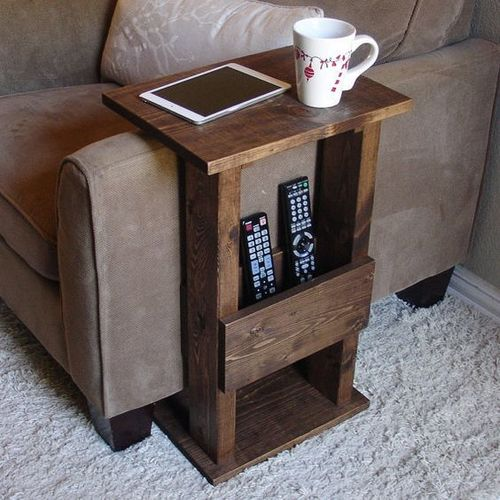 Wooden Remote Stand Table