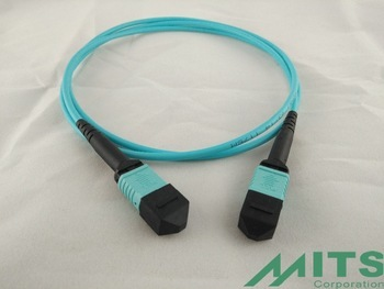 8 Fibers 24 Fibers MPO Patch Cord