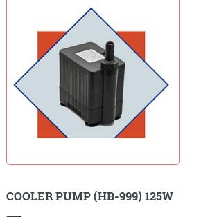 cooler pump 125w