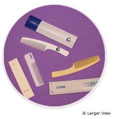 Rigid Plastic Comb