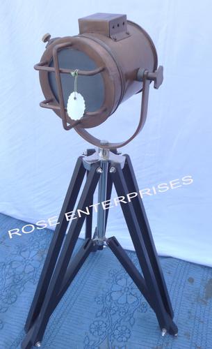 Antique Vintage Decorative Marine Search Light
