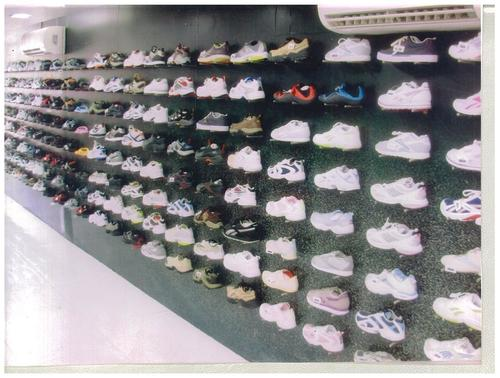 Commercial Display Shoe Rack