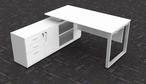 Durable Cabin Table With Loop Leg