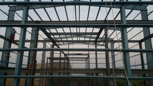 Heavy Duty Steel Structure in  New Area
