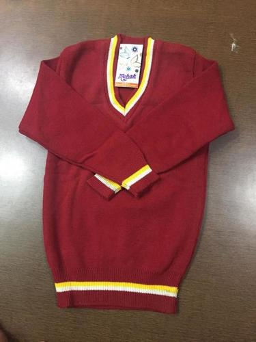 Mehak Red School Sweater