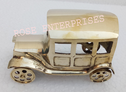 Nautical Gifted Brass Jeep Model