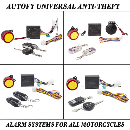 Autofy Bike Universal Anti-Theft Alarm Systems