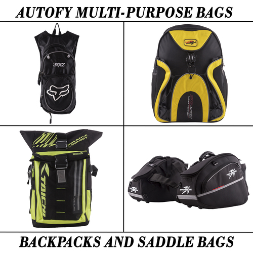 Autofy Multi-Purpose Bagpacks And Saddle Bags