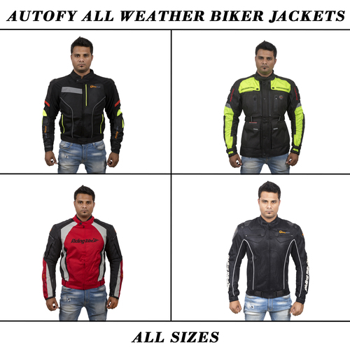 Autofy All Weather Biker Jackets