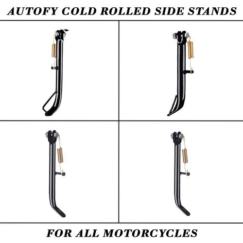 Autofy Bike Side Stands For All Motorcycles And Bike