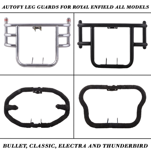 Autofy Leg Guards For Royal Enfield