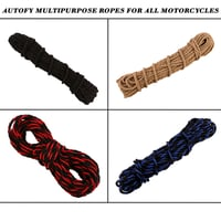 Autofy Multipurpose Nylon Ropes For Leg Guards Of All Motorcycles And Bike