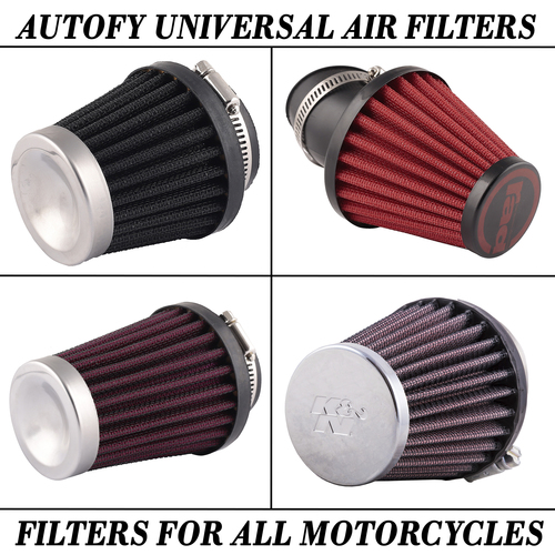 Autofy Universal Air Filters For All Motorcycles And Bike