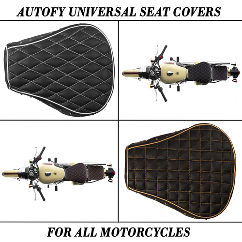 Autofy Universal Seat Covers For All Motorcycles And Bike