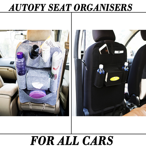 Autofy Universal Seat Organisers For All Cars