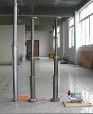 Pneumatic Telescopic Mast And Military Shelter