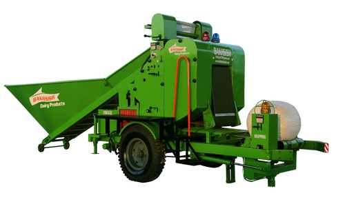 Silage Baler And Wrapper Machine