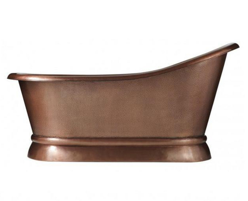 Copper Single Slipper Bath Tub