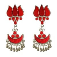 Red Fashion Earring