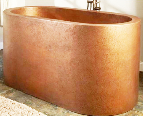 Antique Copper Metal Freestanding Bath Tubs