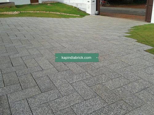Natural everlasting pavers block