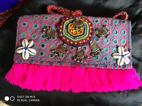 Vintage Handmade Banjara Clutch Bags