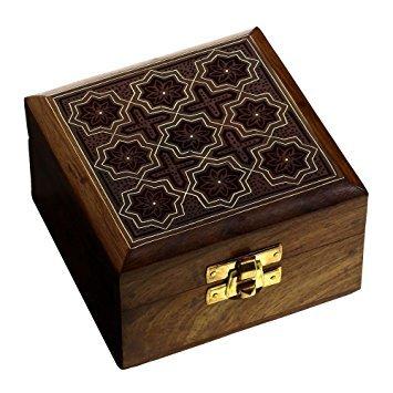 Wooden Small Jewellery Box