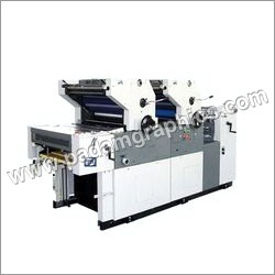 Dual Colour Paper Printing Machine