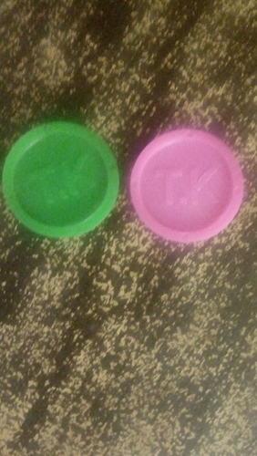 Personalized Plastic Tokens