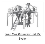 Inert Gas Protected Jet Mill System in   Kunshan City