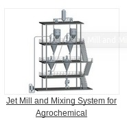 Jet Mill and Mixing System for Agrochemical in   Kunshan City