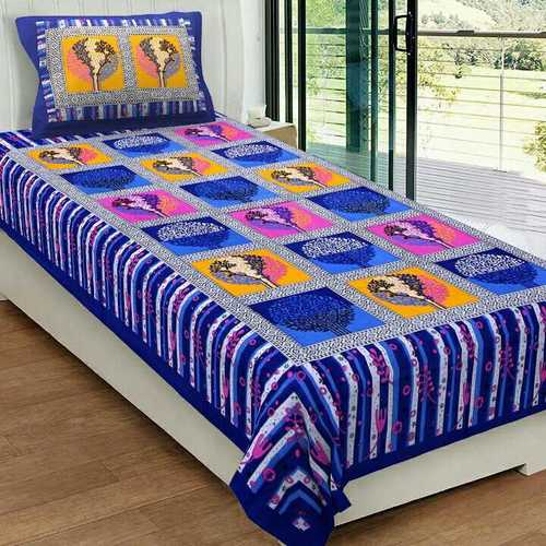 Printed Single Cotton Bedsheet