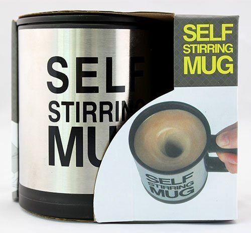 Stainless Steel Blender Self Stirring Mug