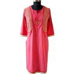 Ladies Jacket Style Cotton Kurti In Jaipur Rajasthan Rangrez