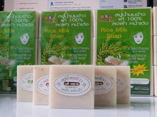 Thai Jasmine Rice Milk Soap