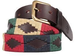 Fashionable Argentinian Polo Belt
