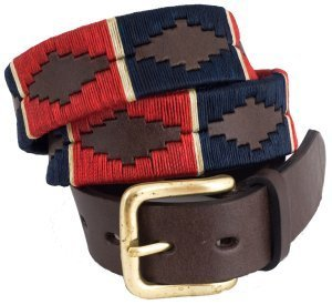 Fashionable Argentinian Polo Leather Belts