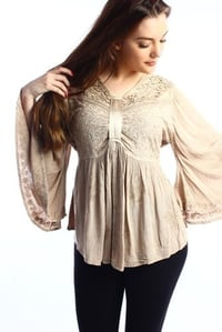 Rayon Blouse With Embroidery