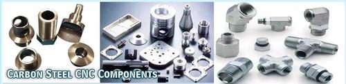 carbon steel cnc components