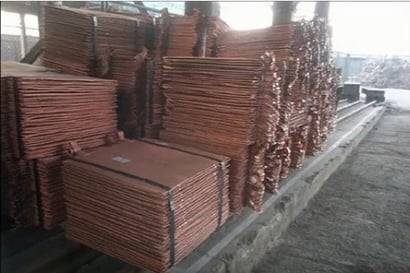 Copper Cathodes Certifications: Contact For Details