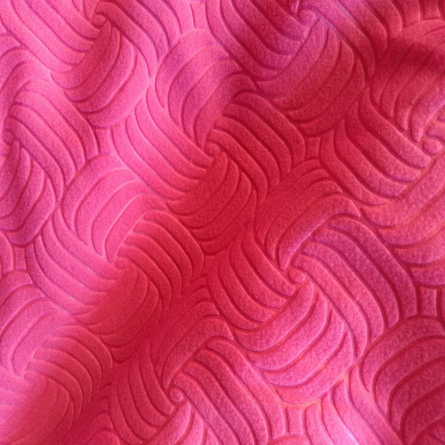 Embossed Polar Fleece Fabric